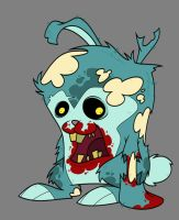 Zombie bunny by Creaturesforhire