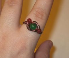 wire wrapped ring by faranway