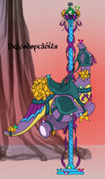 L.E. Carousel Drakey - Experimentor-Iblis by DRACODOPTABLES