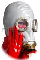Me in Soviet gasmask by latex-rat