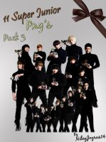 Super Junior A-CHa Png's 3 by NileyJoyrus14