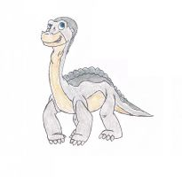 Me in The Land Before Time by henash