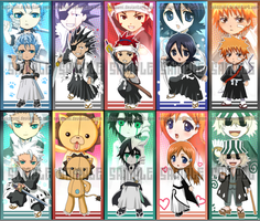 BLEACH - BOOKMARKS by Nekozumi