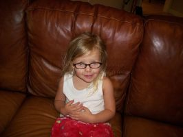 Isabella and her new glasses 1 by Alianna013