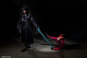 Sword art online klein and kirito by will cosplayer