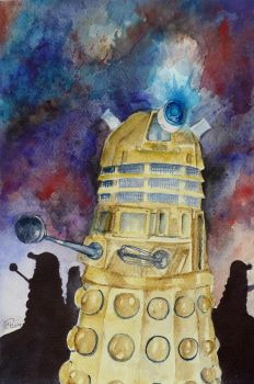 Dalek Attack by RainyBreath