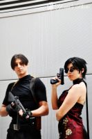 Leon and Ada cosplay RE4 by PrincessRiN0a