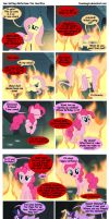 Sun Setting Misfortune MLP Comic: Our Sacrifice 2 by teammagix