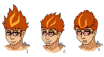 Kazdan Hair Concepts by FireBird963