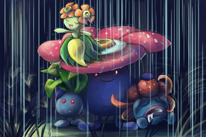 The Oddish Family by Zerochan923600