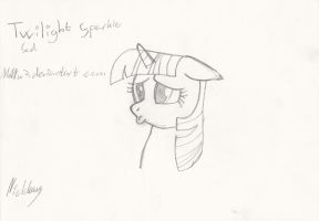 Twilight sparkle hoof drawen sketch by MMu7