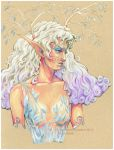 pastel elf by fawnmaiden