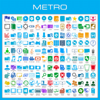 Metro Icon Pack Installer for Windows 7 by UltimateDesktops