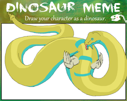 Lemon Armonia meme- dinosaur by DarkCakeDunsparce
