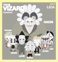 LICA team VIZARD bleach 2 by bunnypistol69