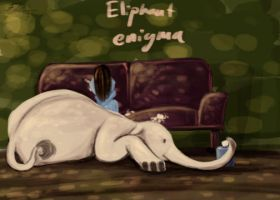 Eliphant In The Room by finnicky-dragon