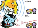 460: Heaven and Hell by Agito666