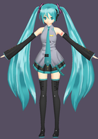 Replica Miku 3 by chatterHEAD
