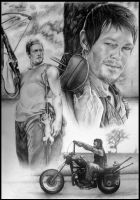 Daryl Dixon - The Walking Dead by NOOSBORN