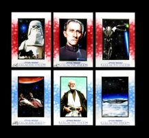 Star Wars Galactic Files Sketch Cards VI by AstroVisionary