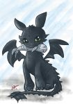 Toothless by Jojomonsterz