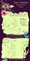 Hiems Mansion Introduction Meme: Asher by milqo