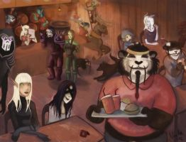 Fast food in Azeroth by Ninami