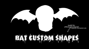 +.BATS.+ Custom Shapes by tt-speedy1