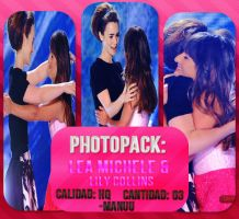 Photopack 003. Lea Michele And Lily Collins by Manuuselena