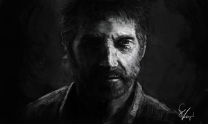 Joel - The Last of Us by SamVerdegaal