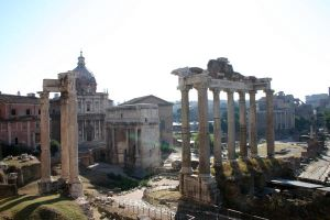 Roman Forum by Kyimoto