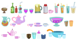 Beverage Accessory Set by SelenaEde