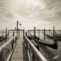 Gondola Jetty by laughsofgreed