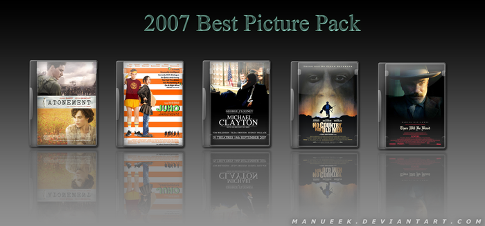 2007 Oscar Best Picture Pack by manueek