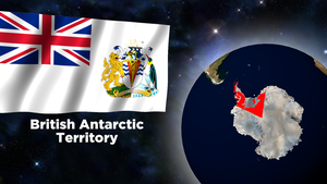Flag Wallpaper - British Antarctic Territory by darellnonis