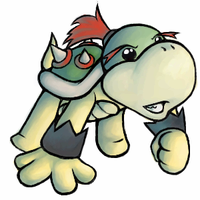 Baby Bowser by HeavenCharge
