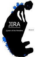 JIRA: Queen of the Monsters! Logo and Premise by AdventDestiny