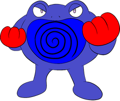 Fighter the Poliwrath by kasanelover