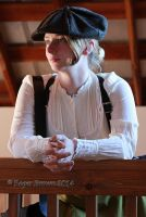 Sara Jo In a Newsboy by Steampunked-Out
