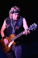 Iron Maiden:  Adrian Smith 1 by basseca