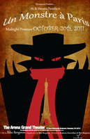 Un Monstre a Paris- Fan poster by Stitch-Wicked