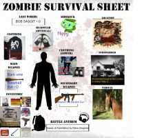 Zombie Survival Template by Greenpandagirl