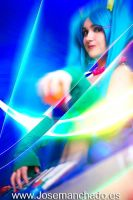 Arcade Sona, League of Legends by Kakelicious