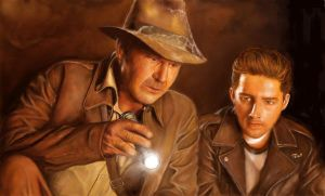 Indiana Jones - Speed Painting by wakdor
