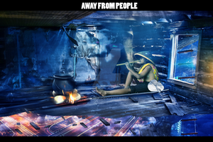 Away from people by hohogfx