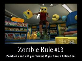 Zombie Rule 13 by psbox362
