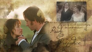 Pride and Prejudice Wallpaper by SimbaHearted
