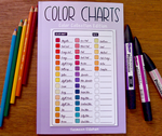 COLOR CHARTS: Color Collection Edition by YamPuff
