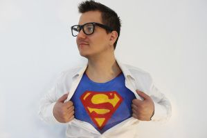 Hipster Superman by MUA-Maano