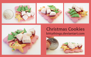 Christmas Cookies - GIFT by Bittythings